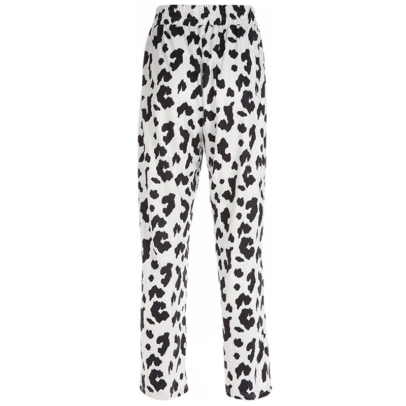 Harajuku Milk Cow Print Pants AHA4455