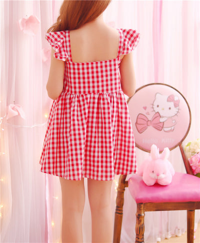 Ulzzang Kawaii Lovely Dress AHA1061
