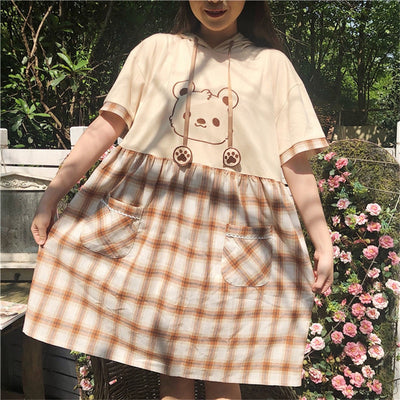 Mori Girl Kawaii Bear Dress JNC293