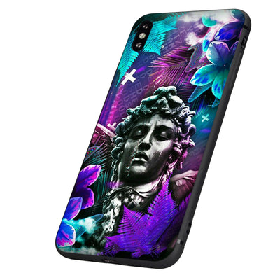 Harajuku Retro Vintage Art Statue Phone Case For IPHONE AHA160900