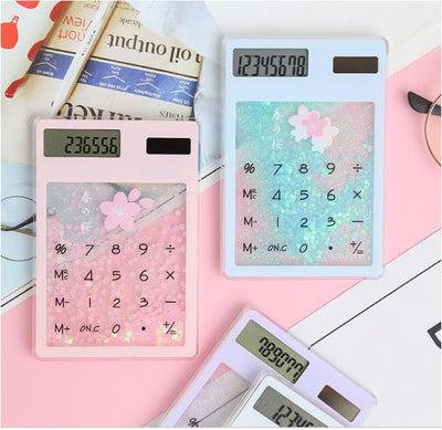 Harajuku Kawaii Quicksand Portable Calculator JNS029