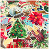 33 Pcs/Pack Kawaii Christmas Stickers XMAS300455
