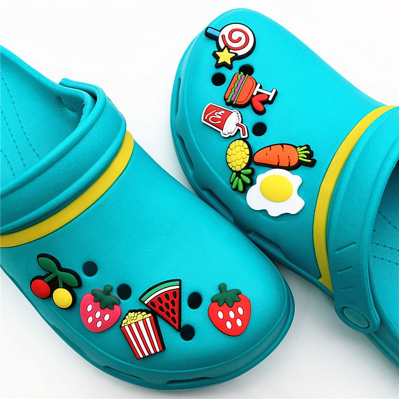 11 Pcs/Set Kawaii Slippers Accessories AHA903