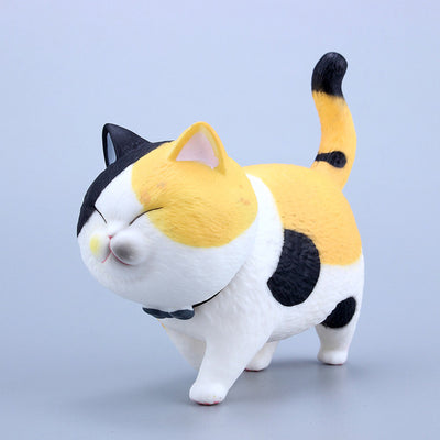 10cm Kawaii Walking Kitten Cat Model JCH999