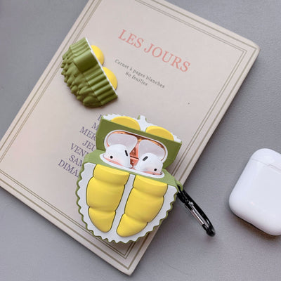 Kawaii 3D Durian AirPods Case AHA393433