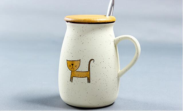 Kawaii Cartoon Animal Mug JXS913