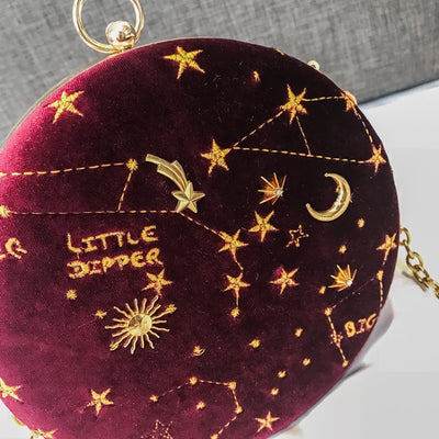 2019 Starry Sky Circular Shoulder Bag JVC283