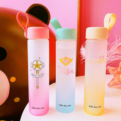 450ml Harajuku Anime Cartoon Water Bottle JAS029