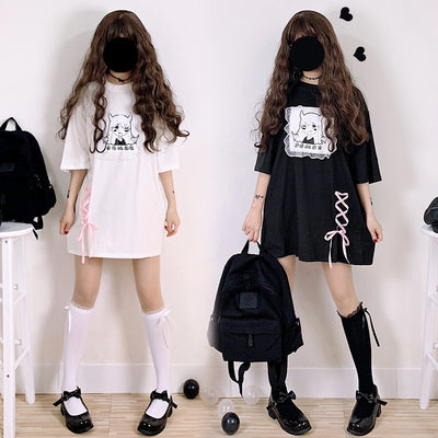 Japanese Gothic Lolita Cute Devil Dress JNN293