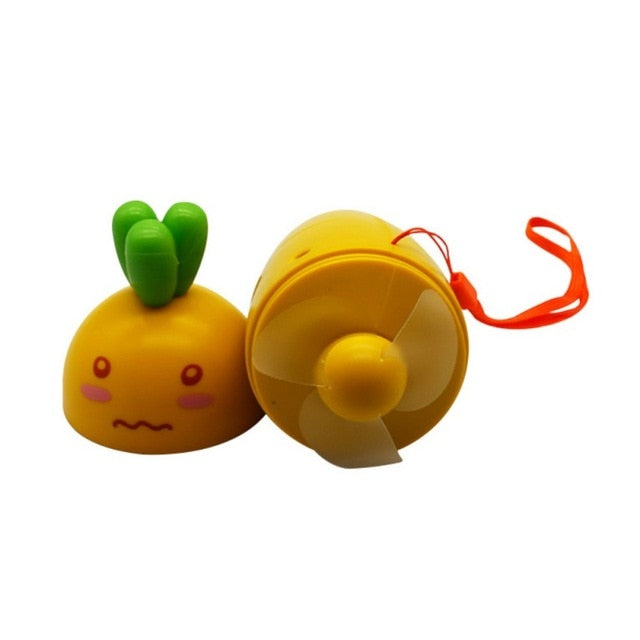 Kawaii Carrot Portable Pocket Fan JUT829