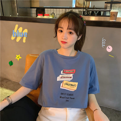 Kawaii Milk T Shirt JSP127