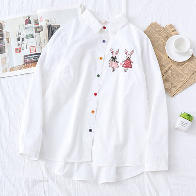 Japanese Kawaii Animal Bunny Rabbit Long Sleeve J172