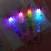 Kawaii Sand Glitter Crystal Gel Pen With LED Lamp AHA9402