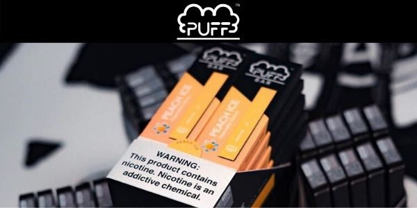 Puff Bar Vape Disposable Vaporizer Pod System Nimbus Pods Vancouver