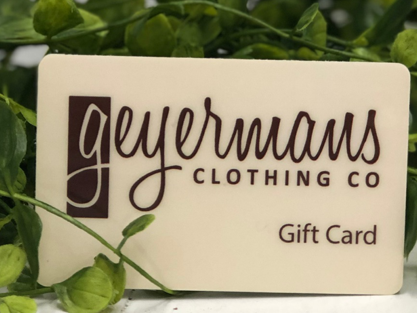 Gift Card (In-Store Use Only)