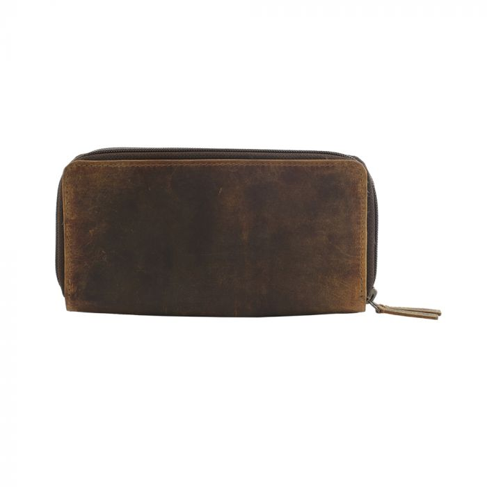 Timber Time Leather and Hairon Wallet