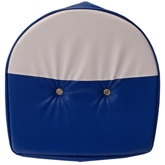 T295BW-AIC Seat Cushion, Blue and White