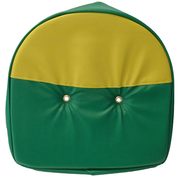 T295GY-AIC Seat Cushion, Green & Yellow