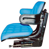 W222BU-AIC Blue Wrap Around Seat with Arms