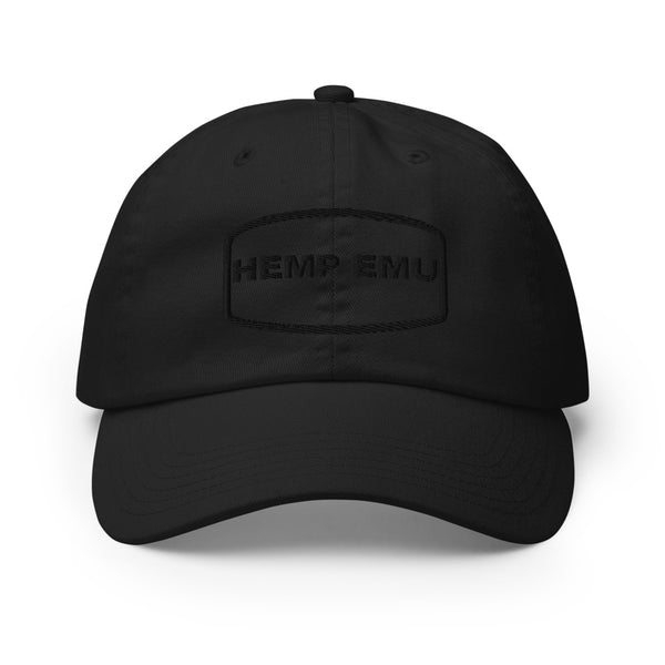 Hemp Emu Midnight Edition Dad Cap