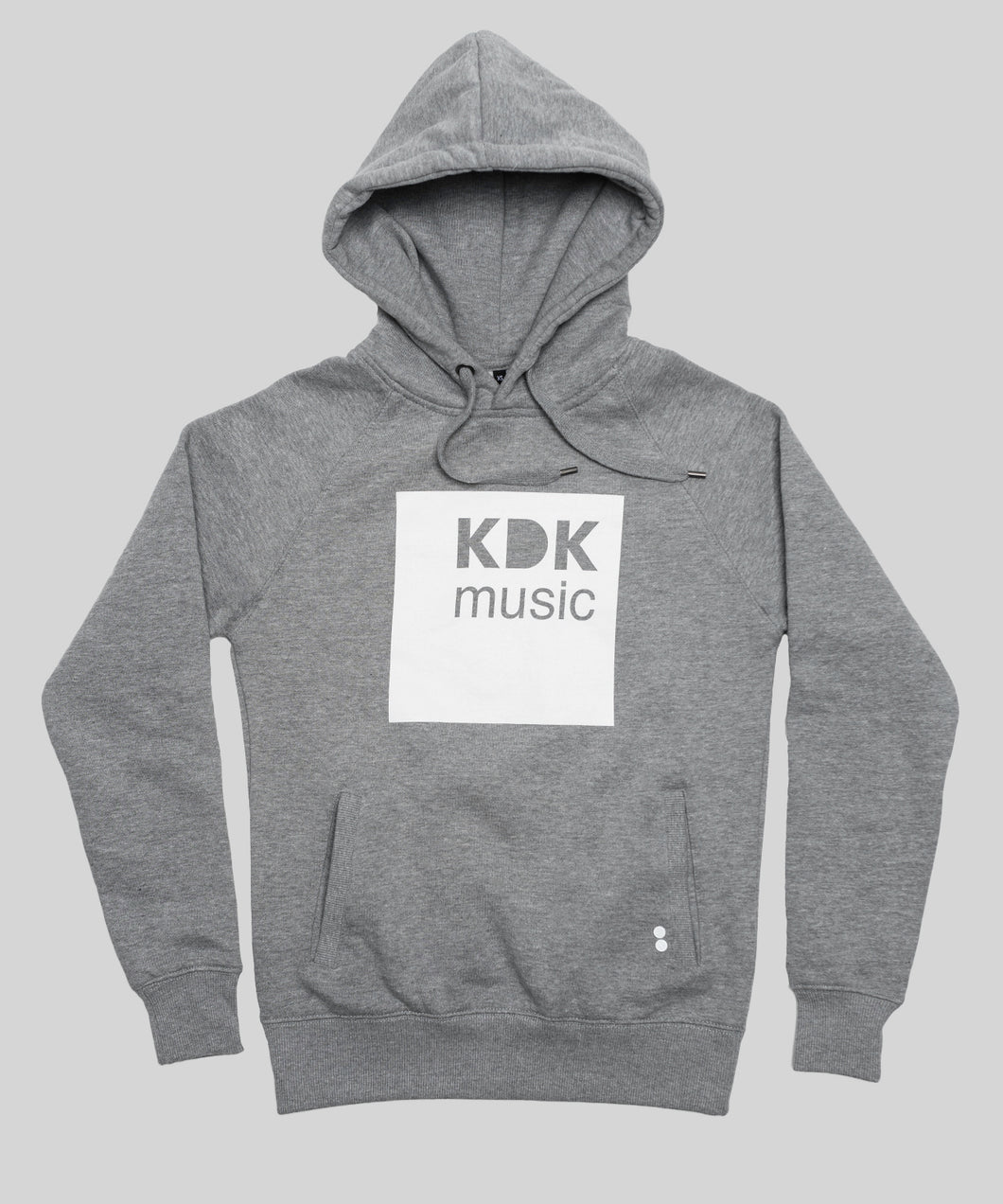 KDK Music Hoody grey