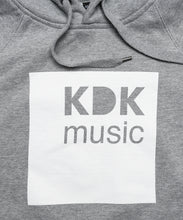 Laden Sie das Bild in den Galerie-Viewer, KDK Music Hoody grey
