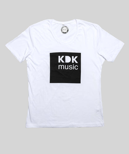 KDK Music T-Shirt white