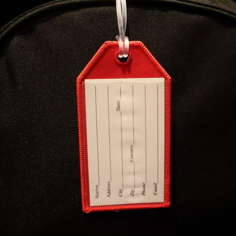 Canadian Flag - Bag Tag