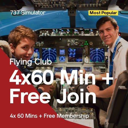 Flying Club 4x 60 Mins + Free Joining