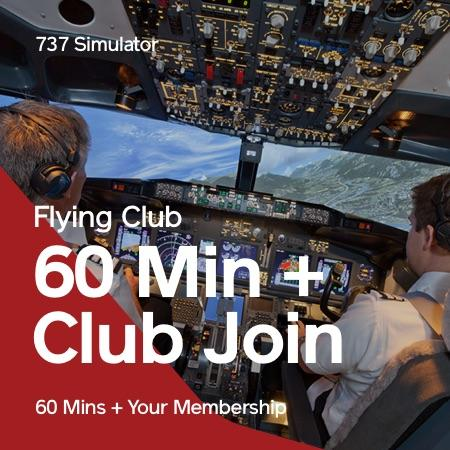 Flying Club 60 Mins + Membership