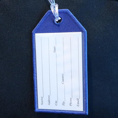Flight Crew Blue - Bag Tag