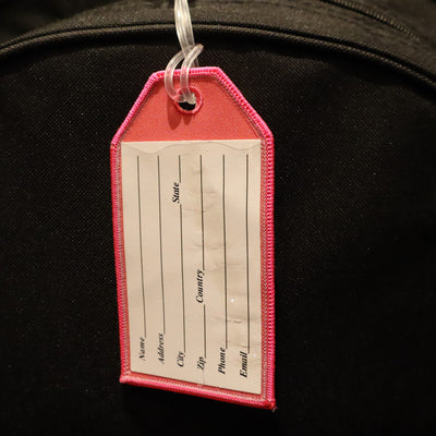 Flight Crew Pink - Bag Tag