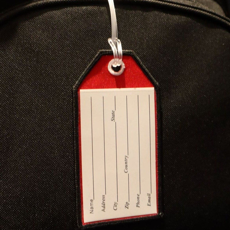 Flight Crew Red - Bag Tag