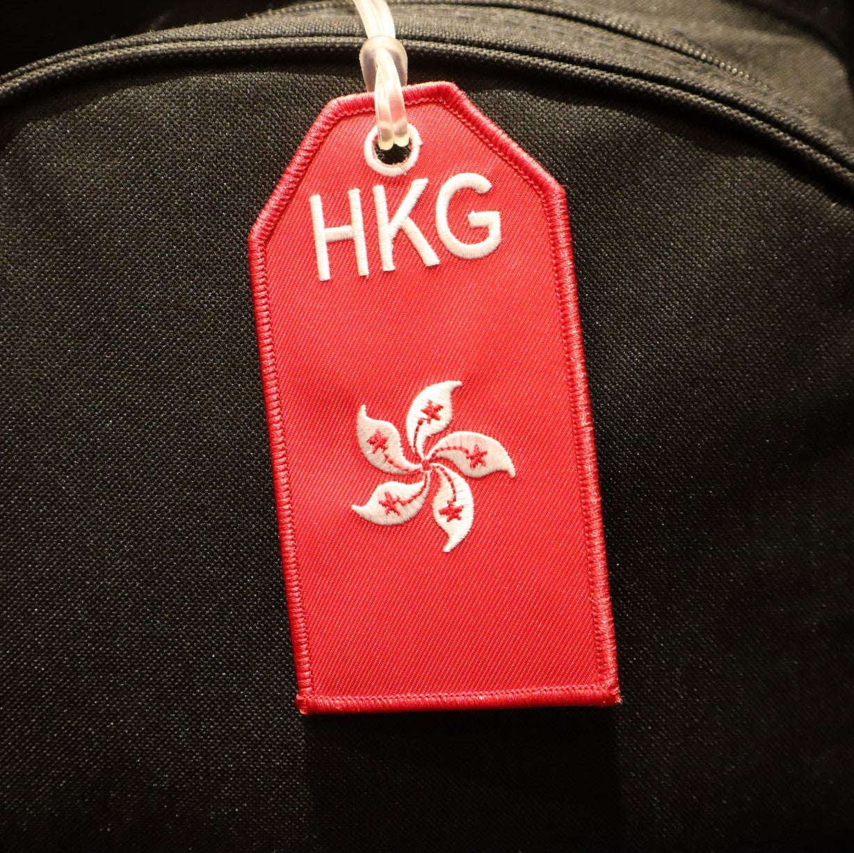 Hong Kong Flag - Bag Tag