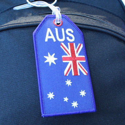 Australian Flag - Bag Tag