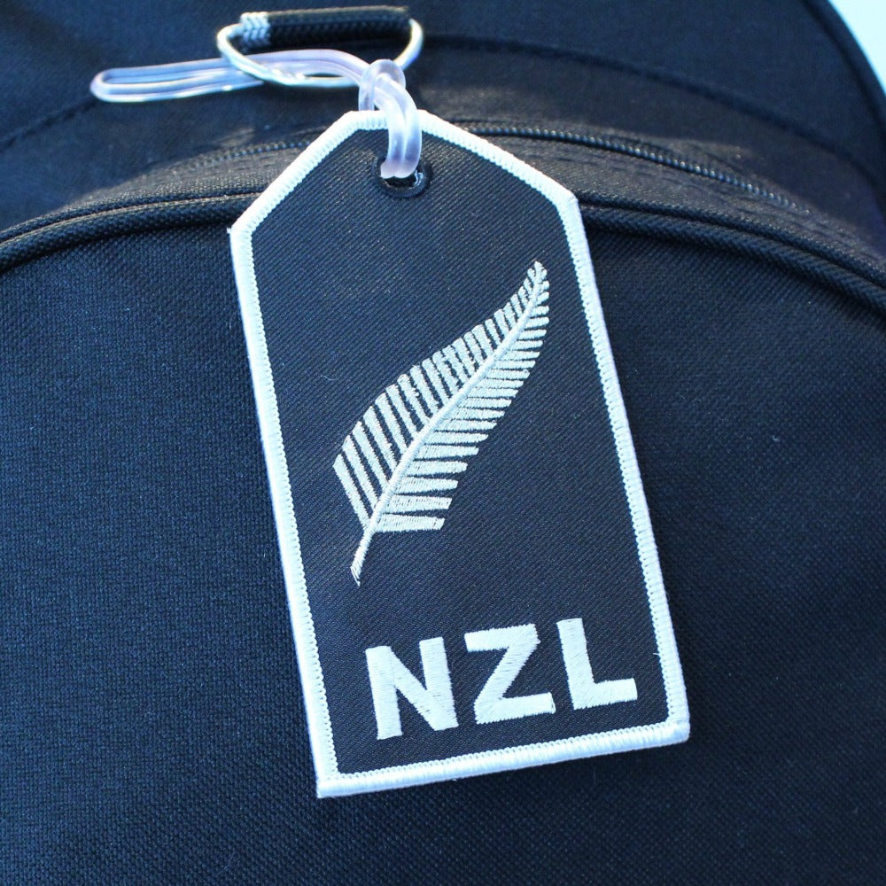 NZL Silver Fern - Bag Tag