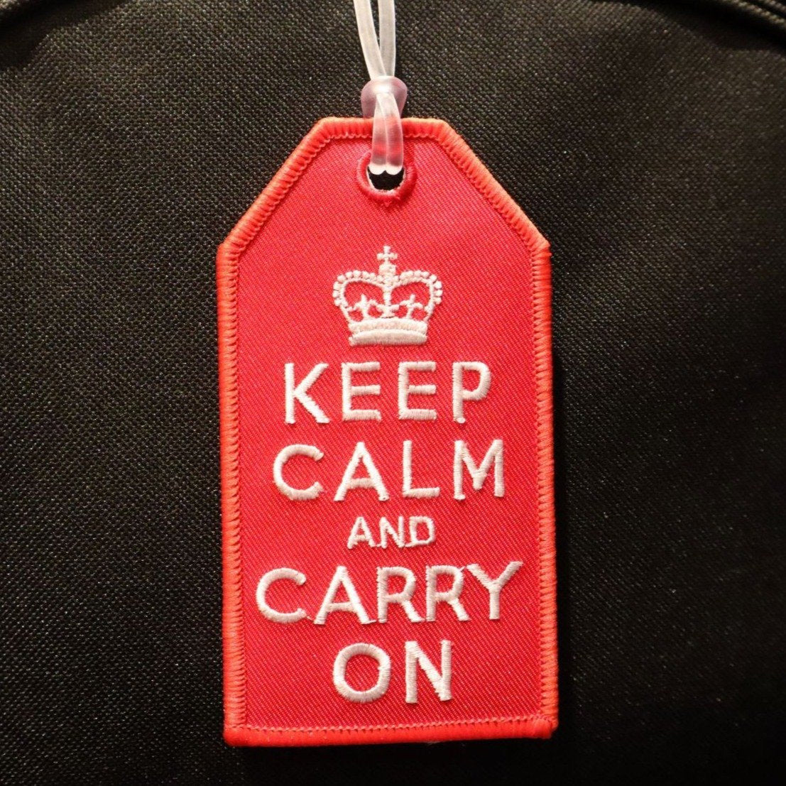Keep Calm and Carry On - Bag Tag