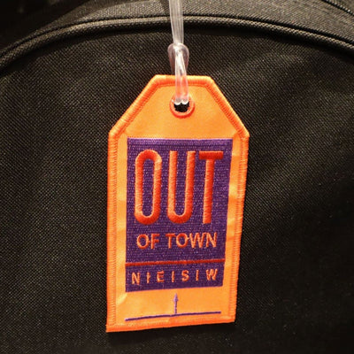 Out of Town - Bag Tag