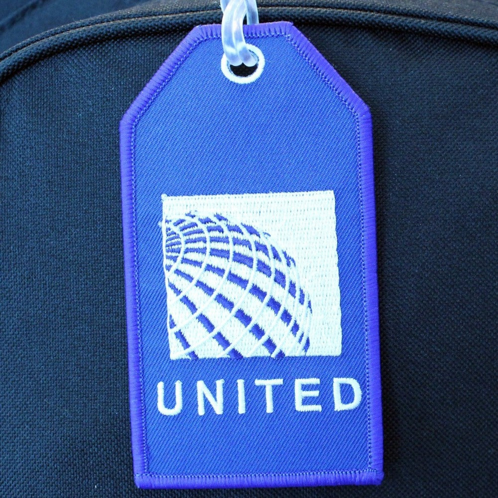 United (Continental) - Bag Tag