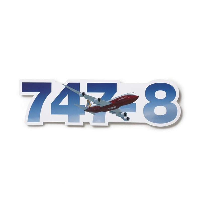 Boeing 747-8 Sticker