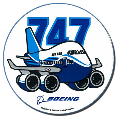 737 Pudgy Sticker