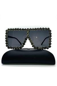 """ON CHILL"" RHINESTONE SUNGLASSEs"