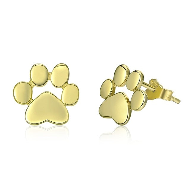Cute Pawprint Earrings