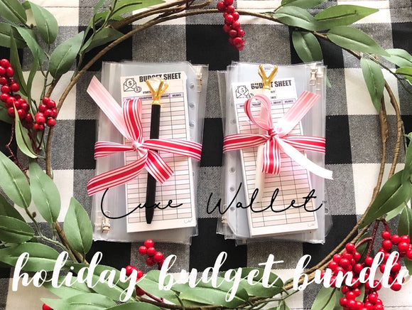 Holiday Zip Pocket Bundle