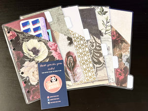 Debt Free Panda Tabbed Envelope Set