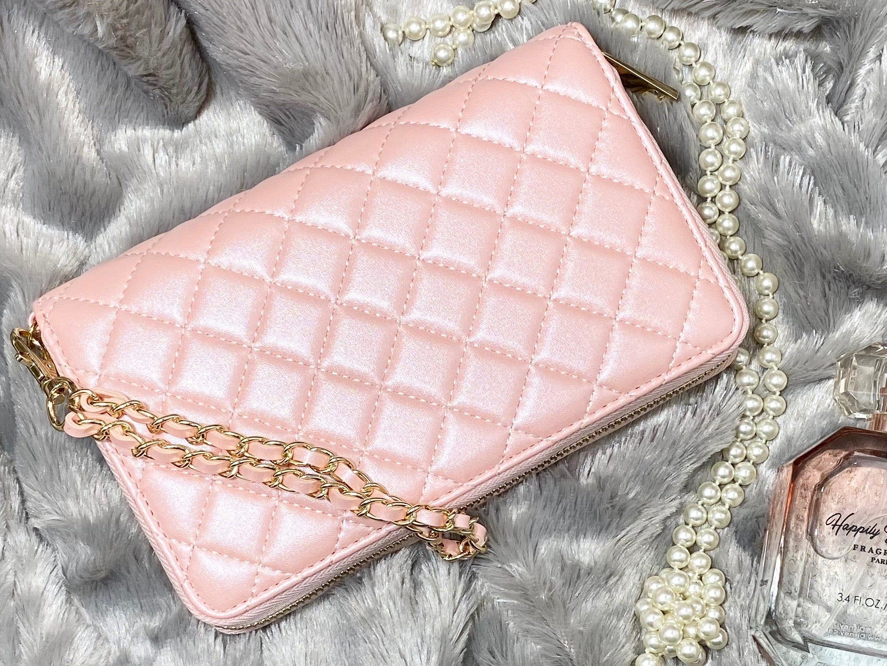 LW Quilted Wallet