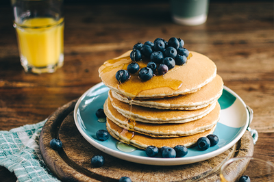 Brain Food 101: Brain Boosting Pancakes
