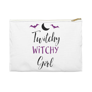 Twitchy Witchy Girl Accessory Pouch