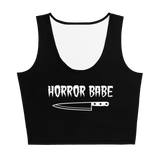 Horror Babe Crop Top