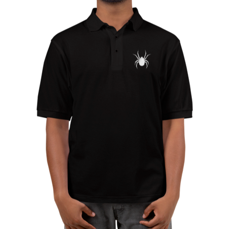 Widow Embroidered Polo Shirt